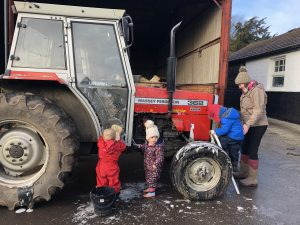 muddy mice tractor cleaning